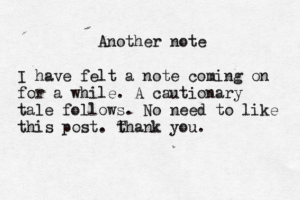 Another note