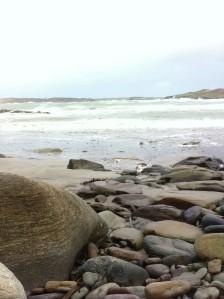 Beach stones on Tra Ban2
