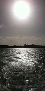 Leaving Sherkin Island.