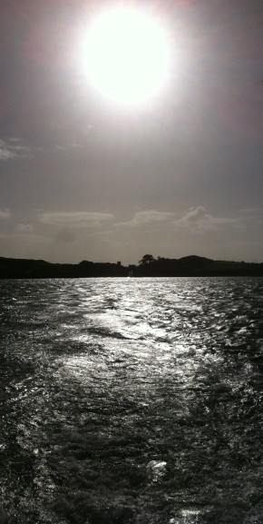 Leaving Sherkin Island. Roaring Water Bay, Co. Cork