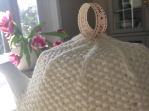 Tea cosy close up