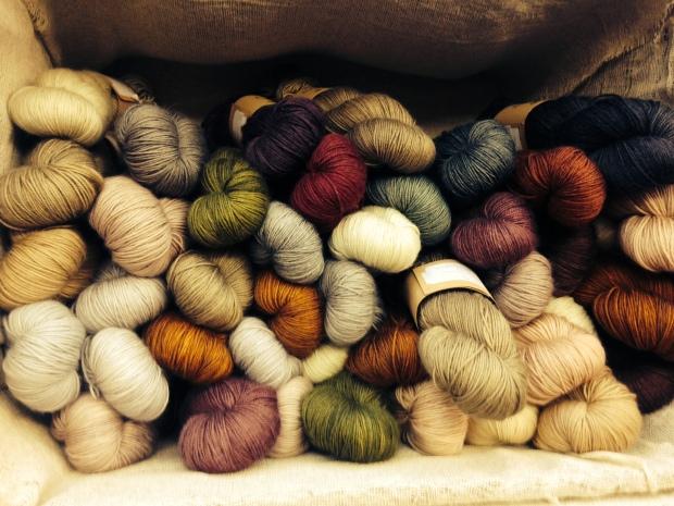 Wildsherkin yarn twists