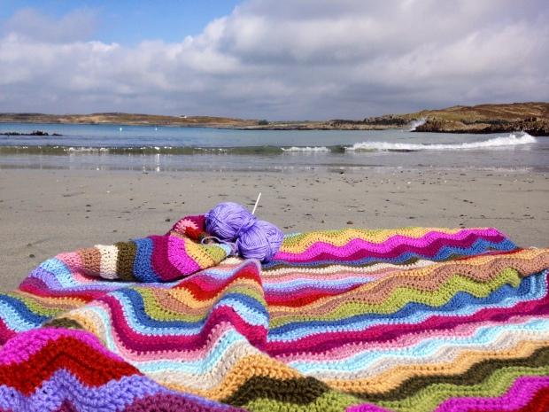 Making ripples on the seashore