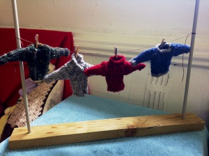 'Don't put your Sherkin jumper in the washing machine' by Sue Cahalan