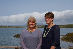 Majella O'Neill Collins (left) and Jo Ashby (right)