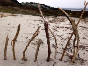 Happy sticks