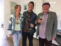 Tara O'Donough, Ken Cotter and John Simpson